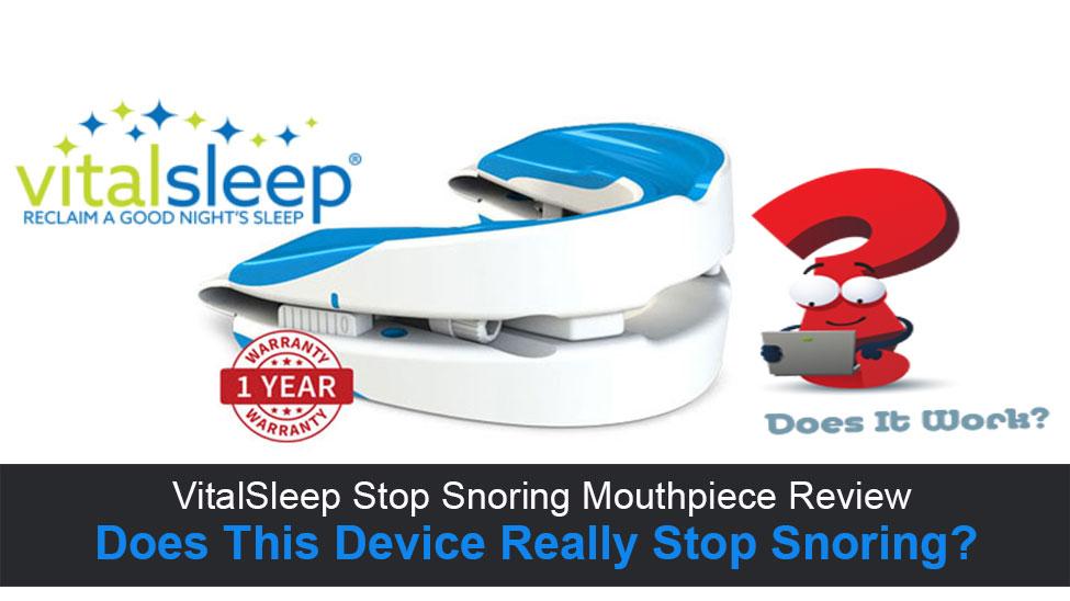 VitalSleep Stop Snoring Review